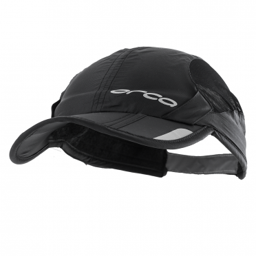 Orca Foldable running cap black