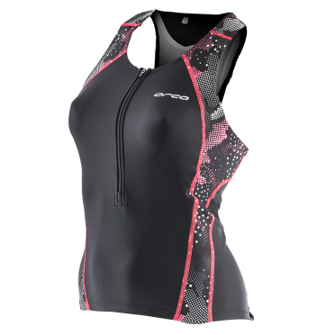 Orca Core support singlet black/pink women