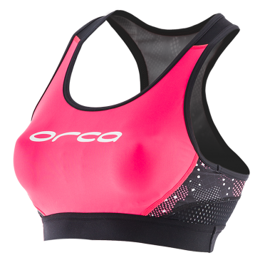 Orca Core support bra pink/black women