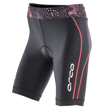Orca Core tri short black/pink women