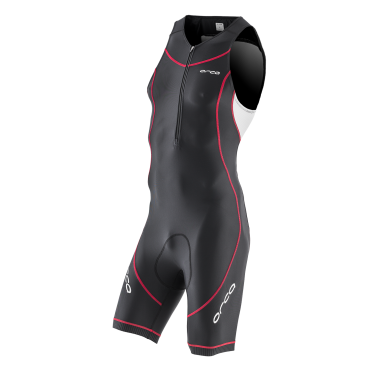 Orca Core basic race trisuit black/white/red men