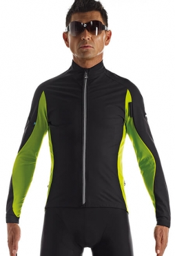 Assos iJ.haBu.5 cycling jacket green men