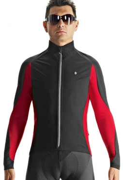 Assos iJ.haBu.5 cycling jacket red men
