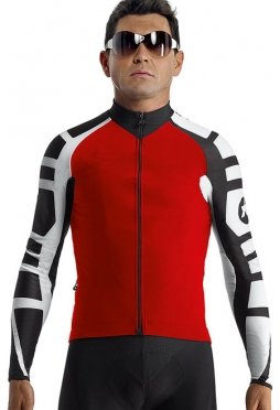 Assos iJ.tiBuru.4 cycling jacket red men