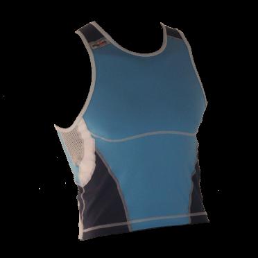 Ironman tri top sleeveless new olympic blue men