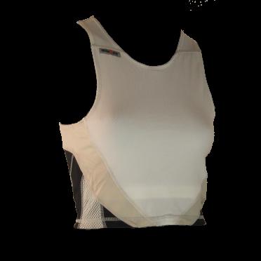 Ironman tri top sleeveless extreme white/black women