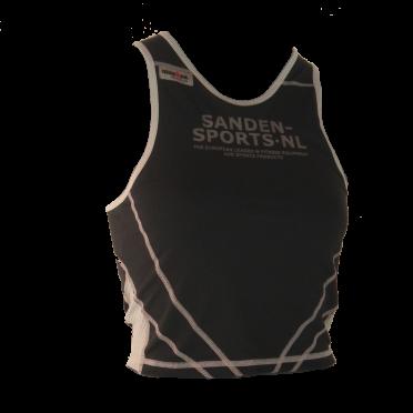 Ironman tri top sleeveless extreme black/sanden women