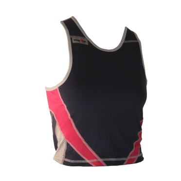 Ironman tri top sleeveless extreme blue/pink women