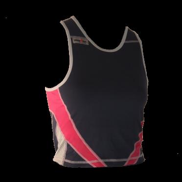 Ironman tri top sleeveless extreme blue/pink women
