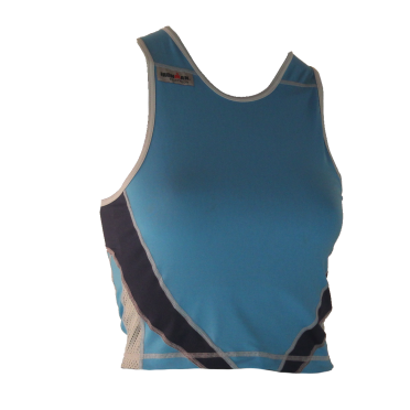 Ironman tri top sleeveless extreme 360 blue women