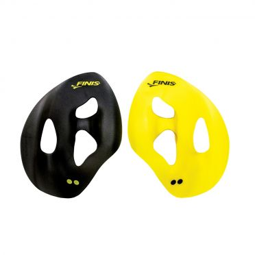 Finis ISO hand paddles yellow/black