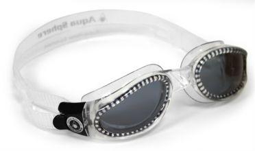 Aqua Sphere Kaiman dark lens goggles silver
