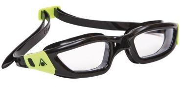 Aqua Sphere Kameleon clear lens goggles black/lime