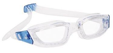 Aqua Sphere Kameleon clear lens goggles silver/blue