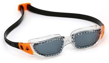 Aqua Sphere Kameleon dark lens goggles black/oranje