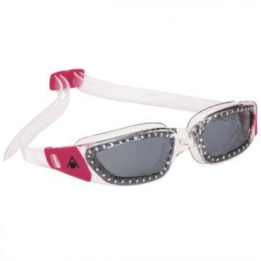 Aqua Sphere Kameleon Lady dark lens goggles silver/pink