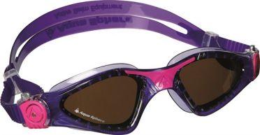 Aqua Sphere Kayenne Lady polarized lens goggles purple