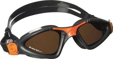 Aqua Sphere Kayenne polarized lens goggles grey/orange