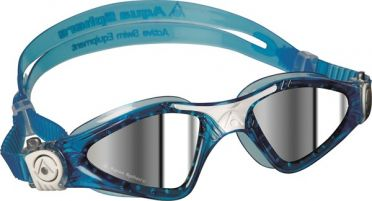 Aqua Sphere Kayenne Small mirror lens goggles blue