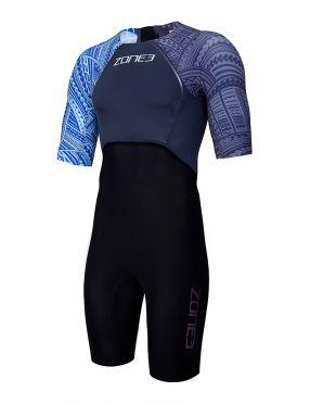 Zone3 short sleeve swim skin men