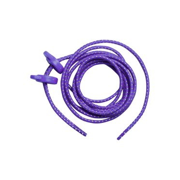 Zone3 Elastic laces purple