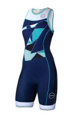 Zone3 Lava long distance sleeveless trisuit women
