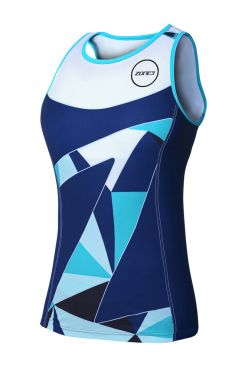 Zone3 Lava long distance sleeveless tri top women
