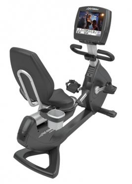 """Life Fitness ligfiets recumbent 95R Engage 15"""" (used model)"""