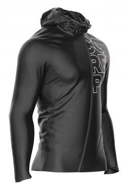 Compressport hurricane 10/10 Waterproof running jacket black unisex