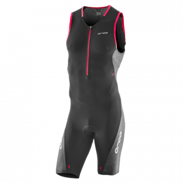 Orca 226 Perform race sleeveless trisuit black/red men