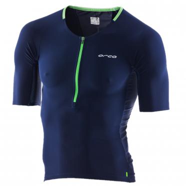 Orca 226 Perform tri jersey short sleeve blue/green men