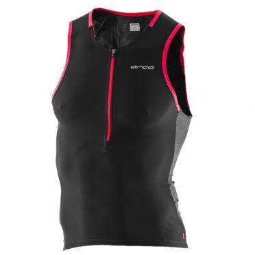 Orca 226 Perform tri tank top sleeveless black/red men