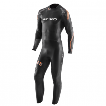 Orca 3.8 full sleeve demo wetsuit men size 8