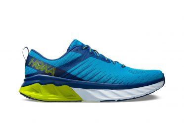 Hoka One One Arahi 3 running shoes blue/yellow men