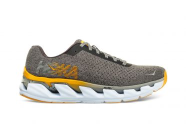 Hoka One One Elevon running shoes iron/geel men