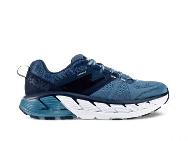 Hoka One One Gaviota 2 wide running shoes blue/white men