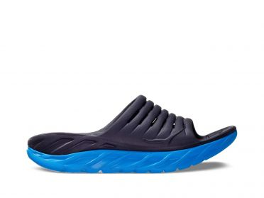 Hoka One One ORA Recovery Slide blue men