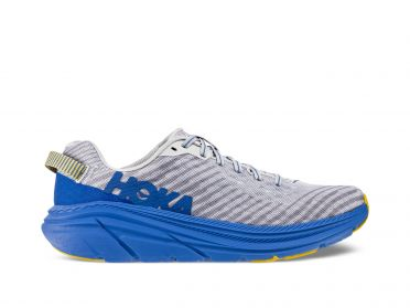 Hoka One One Rincon running shoes blue/grey men