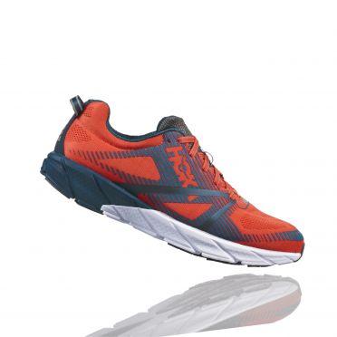 Hoka One One Tracer 2 running shoes orange/blue men