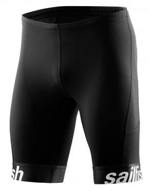 Sailfish Competition tri short black men