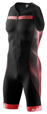 Sailfish Competition trisuit black/red men