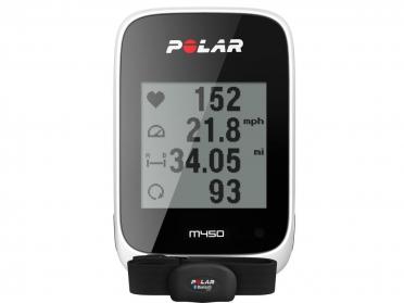 Polar M450 GPS bike computer HR