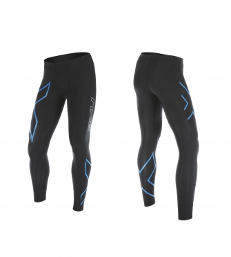 2XU Hyoptik Compression Tights Black/Blue men