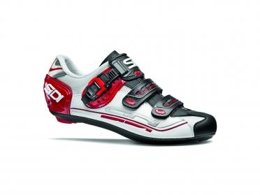 Sidi Genius 7 road shoe white/black/red men