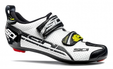 Sidi T-4 Air carbon composite triathlon shoes white/black men