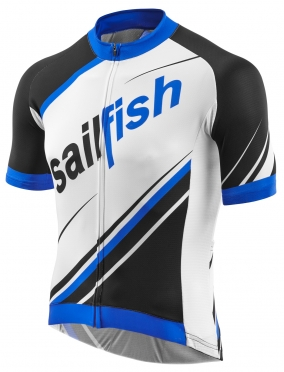 Sailfish Cycle jersey white