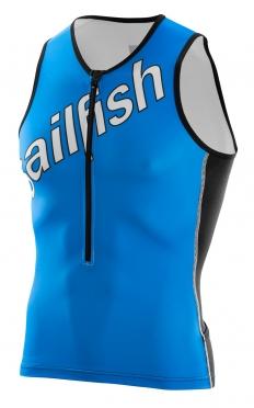 Sailfish Tri top blue/white men
