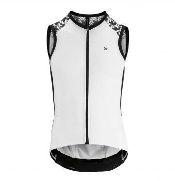 Assos Mille GT NS sleeveless cycling jersey white men