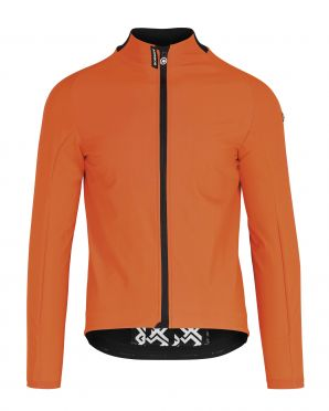 Assos Mille GT Ultraz winter EVO cycling jacket orange men