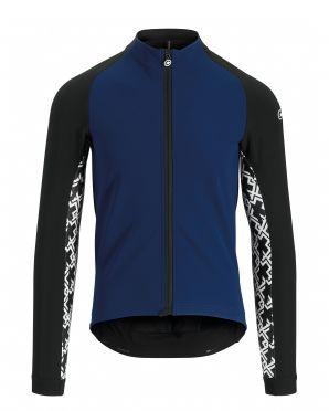 Assos Mille GT winter jacket blue men